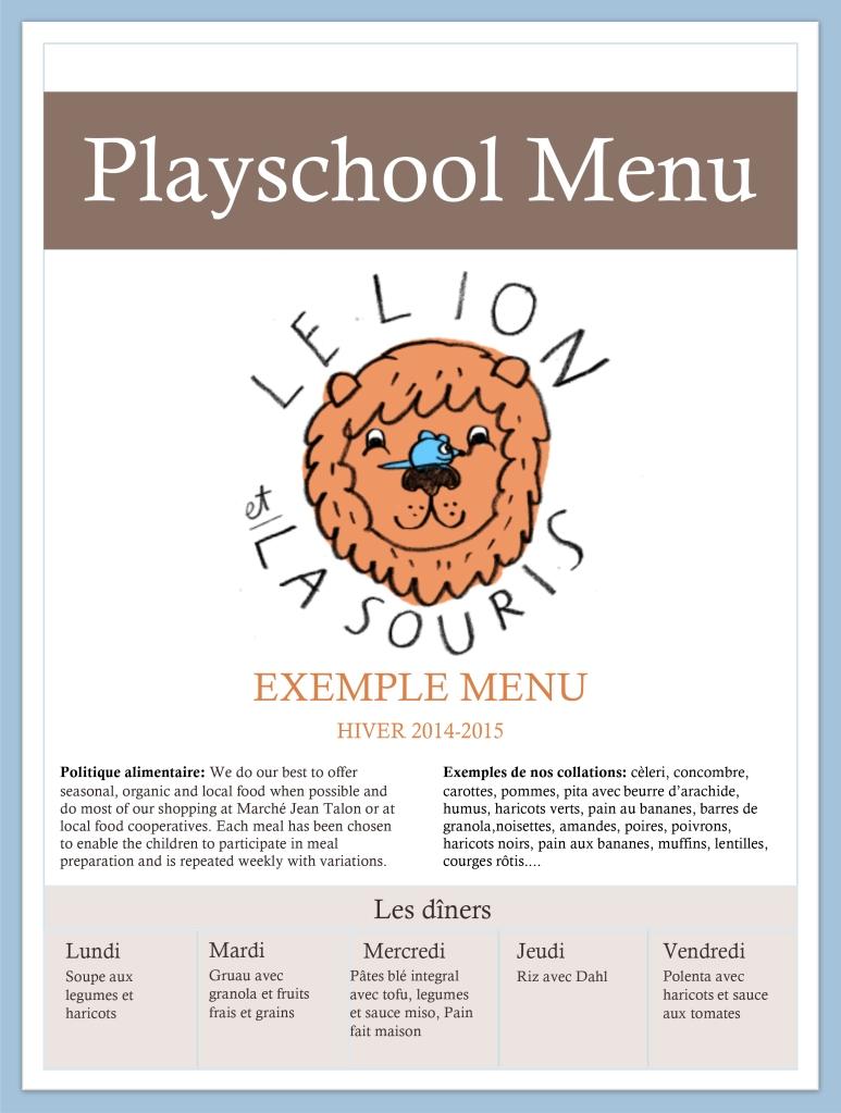Microsoft Word - MENUEXEMPLE_LELIONETLASOURIS_HIVER2014-15.docx